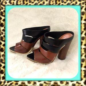👑Gorgeous Rebecca Minkoff Platform Leather Heels